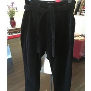 The Great Velvet Belted Pants 443-6-6919
